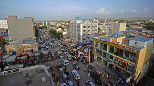 Vue d'Hargeisa, la capitale du Somaliland.