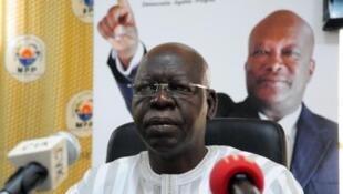 Salif Diallo, presidente do Parlamento de Burkina Faso, morto, a 19 de agosto, em Paris, França