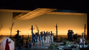 Tosca à l'Opera national de Paris.