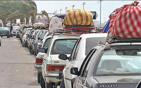 تردد مسافران به برخی استانهای ایران محدود میشود. تصویر تزیینی است.