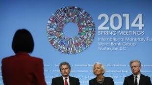 Reuniões de primavera do FMI e do Banco Mundial, em Washington.