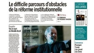 A derrota do ex-presidente Lula no Supremo Tribunal Federal é manchete do jornal Le Monde