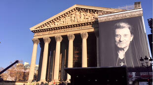 Johnny Halliday, l'ultime adieu en l'église de la Madeleine