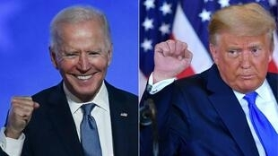 President Donald Trump lost but is refusing to concede to Democrat Joe Biden