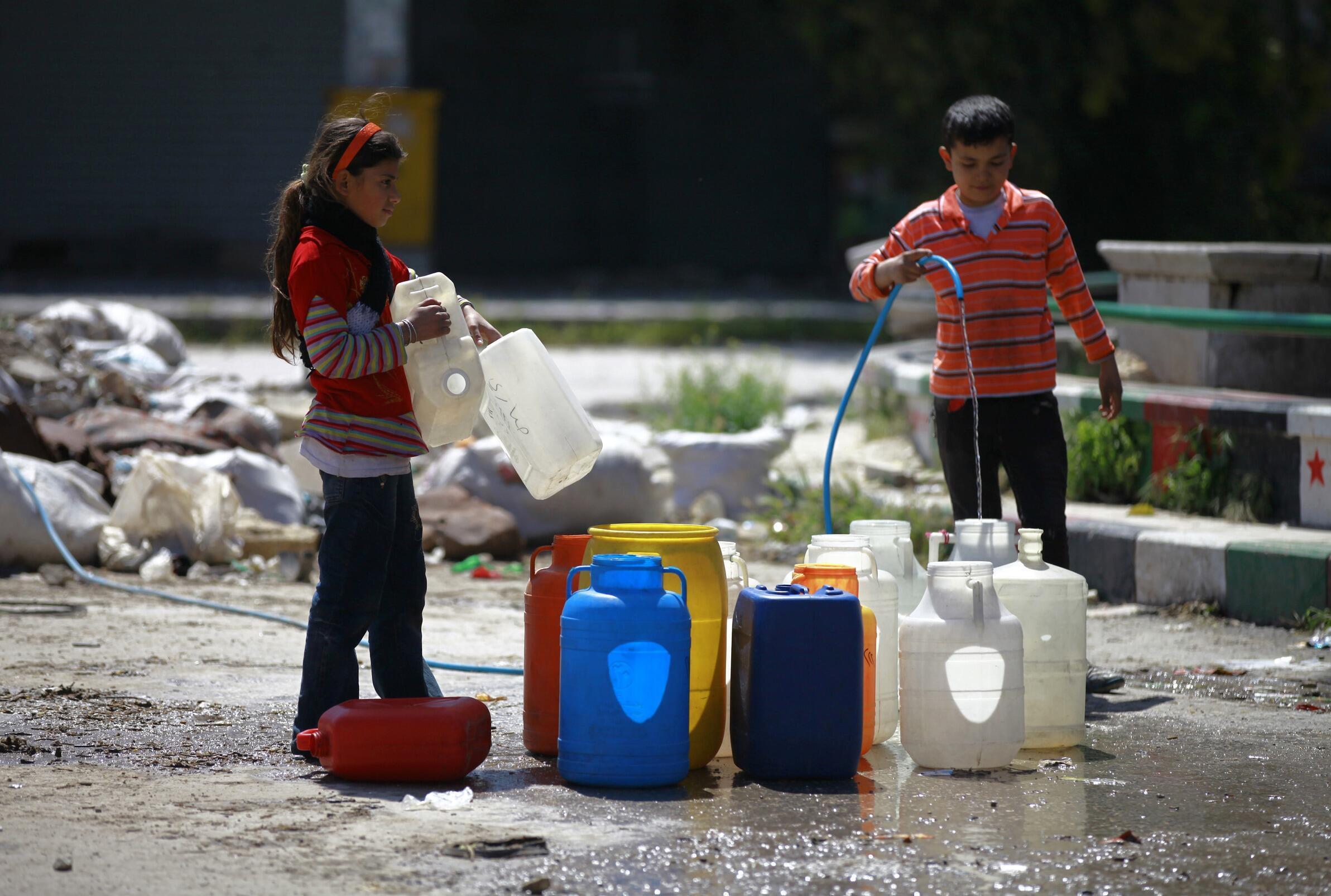 L'approvisionnement en eau est déjà l'un des grands défis du XXIe siècle.