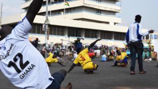 Au Ghana, l'équipe de skate soccer compte une soixantaine de joueurs dispatchés entre Accra, la capitale, et Kumasi, la seconde ville du pays.