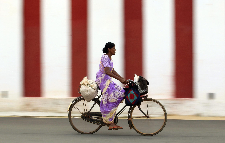 Une Tamoul, à Jaffna (400 km au nord de Colombo), le 22 septembre 2013.