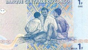 Le franc congolais.