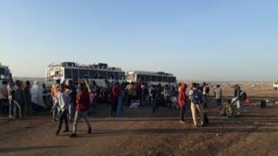 Des milliers de réfugiés éthiopiens sont arrivés ces derniers jours pour s'installer dans des camps de fortune sur la colline de Hamdayet.