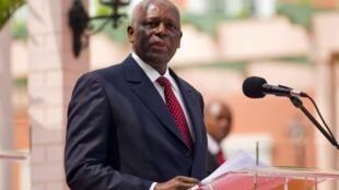 Rais wa Angola, Jose Eduardo dos Santos.