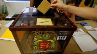 elections - régionales - départementales - avignon - vote - 2021 - france - paca