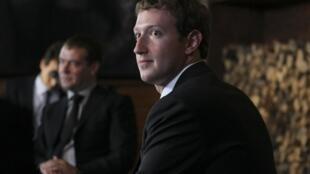 Встреча Марка Цукерберга с Дмитрием Медведевым в Горках 01/10/2012