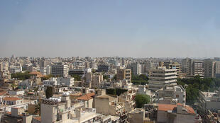 Vista de Nicósia, capital do Chipre.
