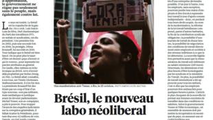 Artigo publicado no jornal Libération de 22 de novembro de 2017.