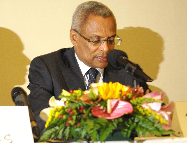 Primeiro-ministro caboverdiano, José Maria Neves, em Paris, 2013.