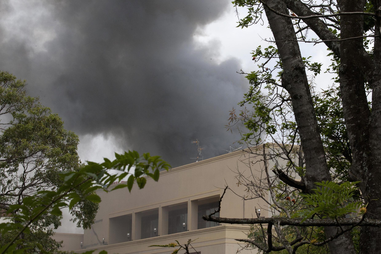 Imágenes de las explosiones en el centro comercial Westgate.