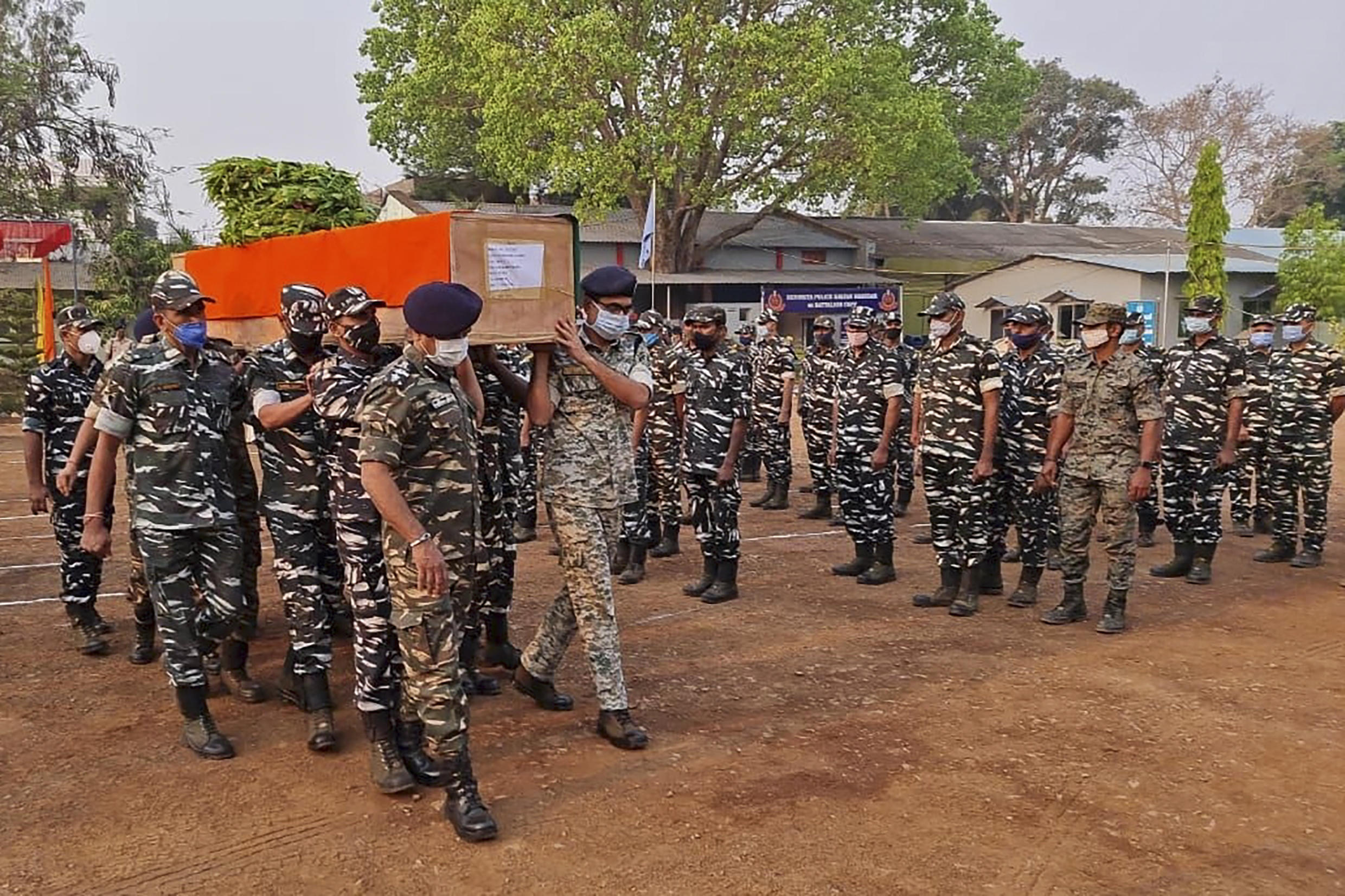 Twenty-two Indian security forces were killed and 30 others wounded in a gun battle with Maoist rebels, in the deadliest ambush of its kind in four years