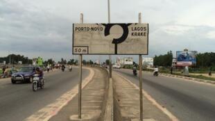 Sur la route, vers la frontière entre Nigeria et Bénin.
