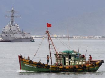 Tàu cá Việt Nam. Ảnh minh họa.