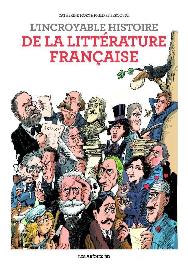Cinq siècles de l'histoire littéraire française en BD