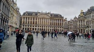 Vista de la Gran Plaza de Bruselas.