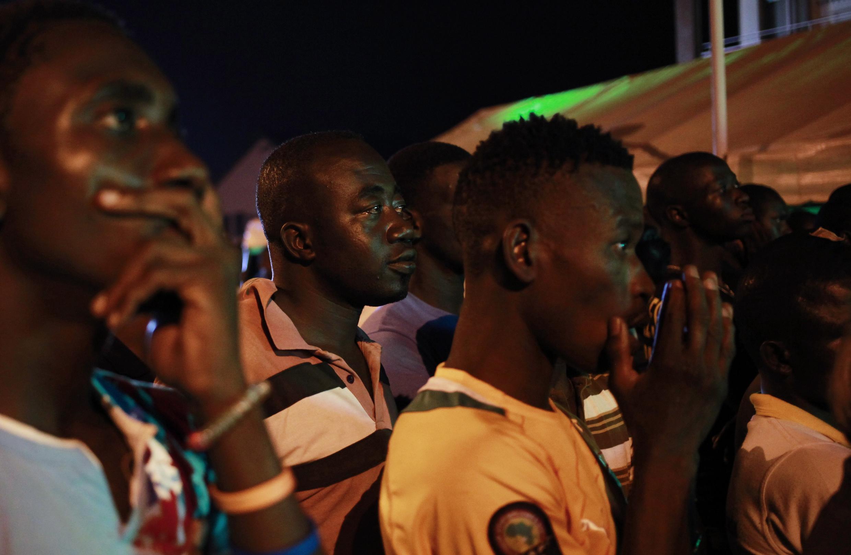 Mashabiki wa cote Dvoire jijini Abidjan