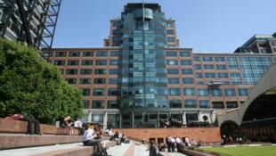Le siège de la BERD est situé à Londres, au Royaume-Uni.