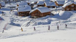 拉普德岳茲滑雪站 l'Alpe d'Huez.
