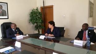 Reunião do Fórum Palop na embaixada de Angola, em Addis Abeba.