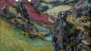 Paysage aux environs de Saint-Julien-des-Chazes, d'armand Guillaumin (1895)