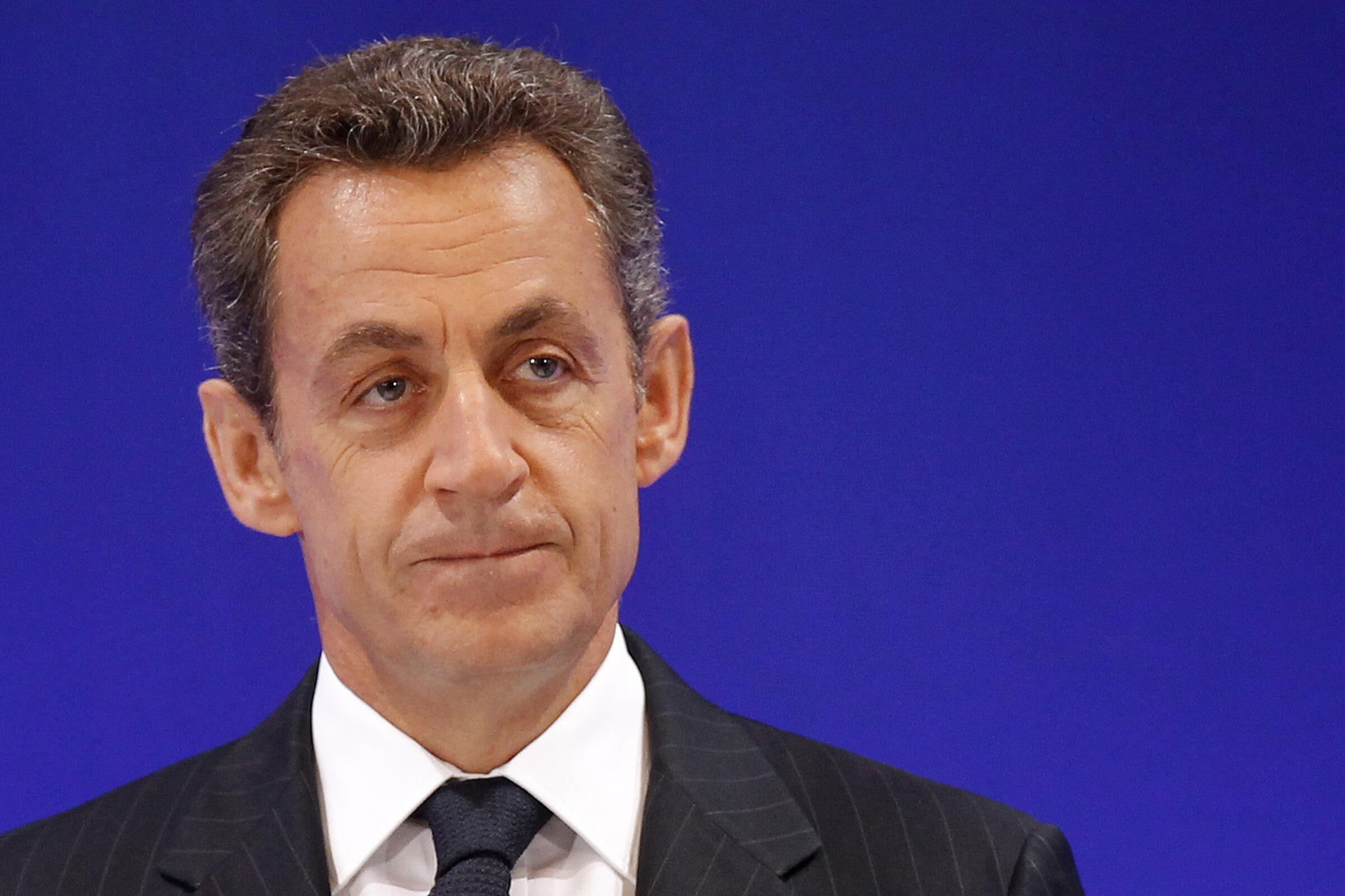 O presidente francês, Nicolas Sarkozy