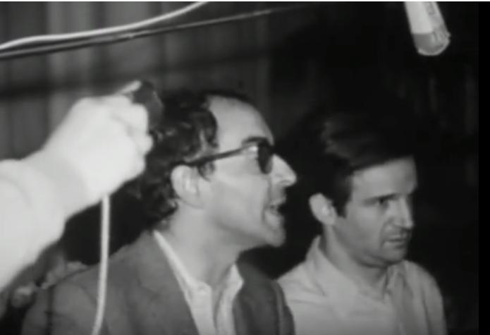 Hai đạo diễn Jean-Luc Godard & François Truffaut tại liên hoan Cannes 1968