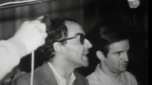 Jean-Luc Godard e François Truffaut defendem cancelamento do festival de Cannes em 68.