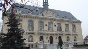 L'hôtel de ville d'Aulnay-sous-Bois.