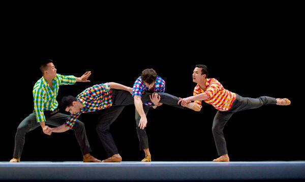 Vở múa Sarabande do Benjamin Millepied sáng tác cho nhà hát Opéra de Lyon (DR)