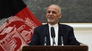 L'échange avait été promis par le président afghan Ashraf Ghani (ici le 9 juillet 2018).