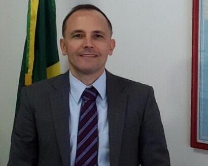 Cleiton Schenkel, diplomata brasileiro em Pyongyang.