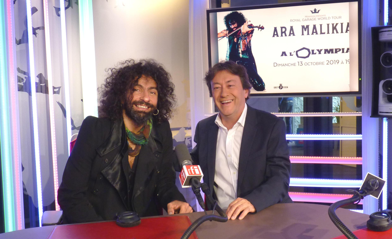 Ara Malikian y Jordi Batallé en el estudio 151 de RFI