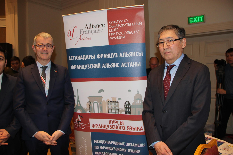 Посол Франции в Казахстане Филипп Мартинэ