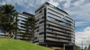 Sede bo Banco ANZ, na prestigiosa região das docas, em Melbourne, na Austrália.