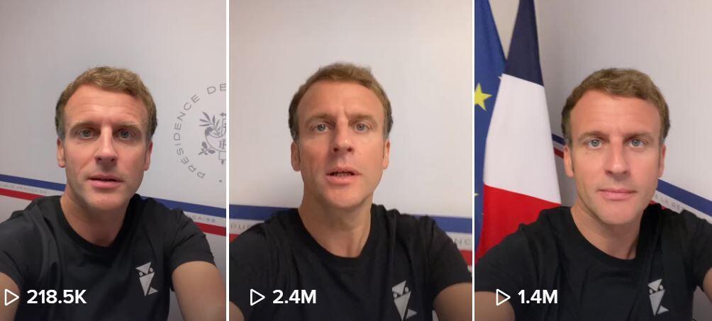 马克龙在TikTok上用视频回应网友们对新冠疫苗的疑虑