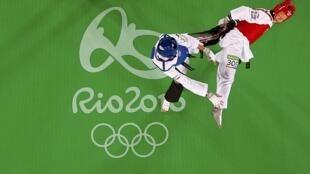 Nembo ya mchezo wa Taekwondo katika michezo ya Olimpiki nchini Brazil