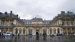Le siège du Conseil d'Etat, à Paris.