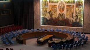 Hội đồng Bảo an Liên Hiệp Quốc tại trụ sở ở New York, Hoa Kỳ.