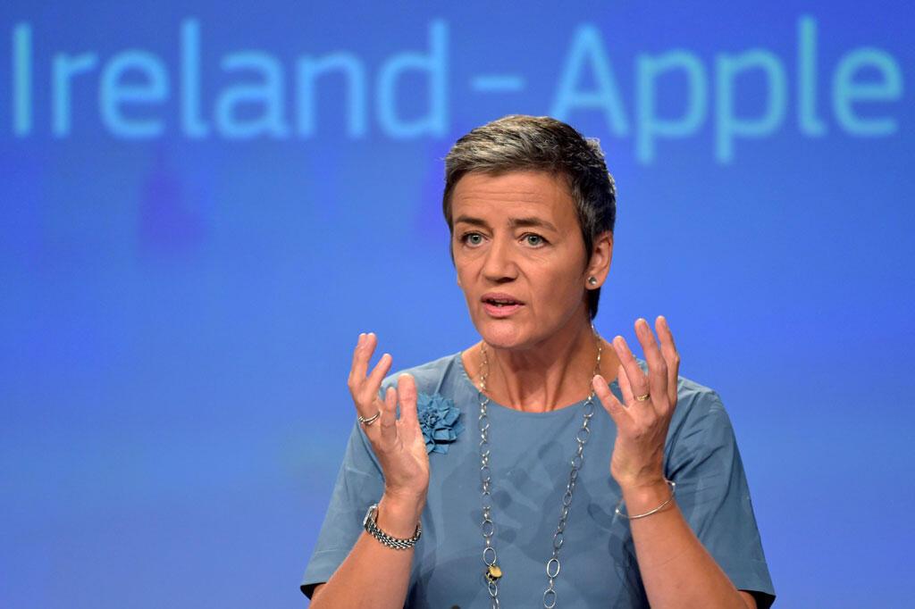 A comissária europeia da Concorrência, Margrethe Vestager.