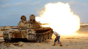 效忠利比亞團結政府的部隊向蘇爾特挺進。2016-08-02