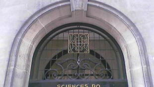 Entrada del Instituto de Ciencias Políticas de París, en la calle Saint-Guillaume.