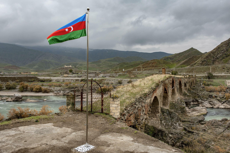 Frontière entre l'Azerbaïdjan et l'Iran.