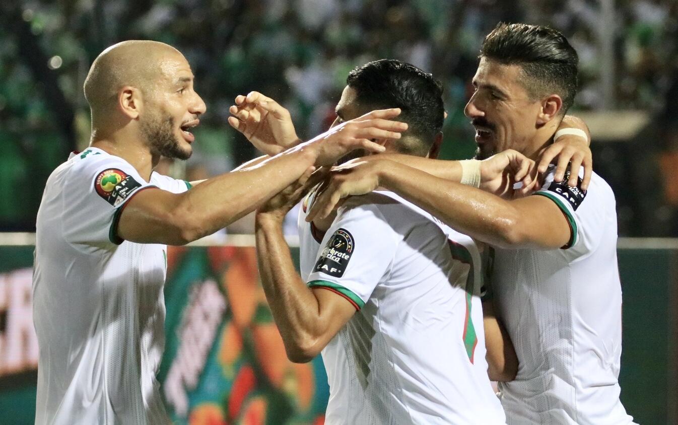 Les Algériens sont qualifiés pour la finale de la CAN 2019.