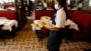 Restaurant Paris Déconfinement